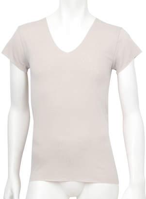 Wacoal (ワコール) - [ワコールメン]肌さらさら綿フラット 一分袖シャツ
