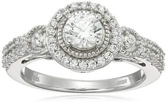 Swarovski Sterling Silver Zirconia Fashion Ring