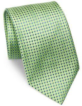 CharvetCharvet Dotted Silk Tie