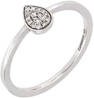 Carriere JEWELRY Diamond Pave Teardrop Ring