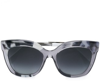 Fendi Eyewear clear frame sunglasses