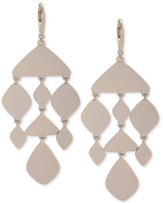 DKNY Gold-Tone Chandelier Earrings, Created for Macy's
