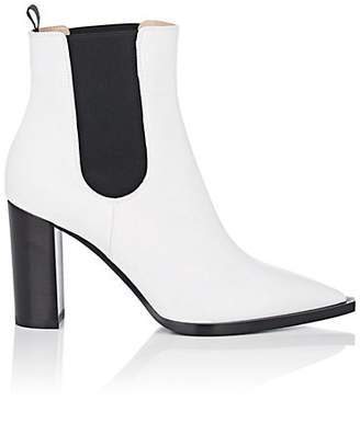 Gianvito Rossi Women's Leather Chelsea Boots - White