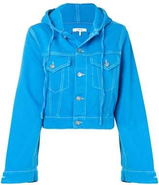 Ganni hooded denim jacket