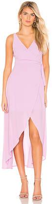 Line & Dot Rona Wrap Dress