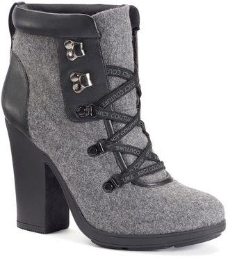Juicy Couture Kaspar Women's Ankle Boots $89.99 thestylecure.com