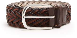 Paul Smith Leather braided belt