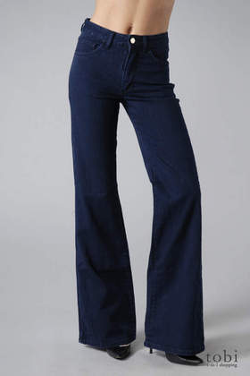 Acne Jeans A-Pant Trouser Jeans in Just Blue