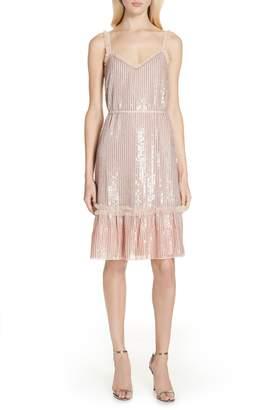 Needle & Thread Gloss Sequin Ruffle Dress