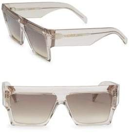 Celine 61MM Wraparound Sunglasses
