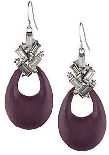 Alexis Bittar Crystal Baguette Cluster Drop Earrings