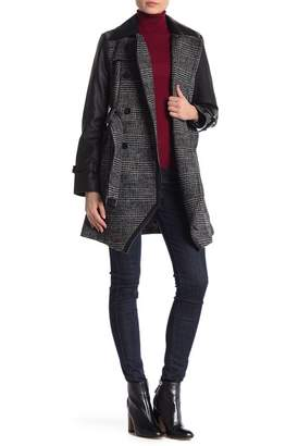 GUESS Houndstooth Coat