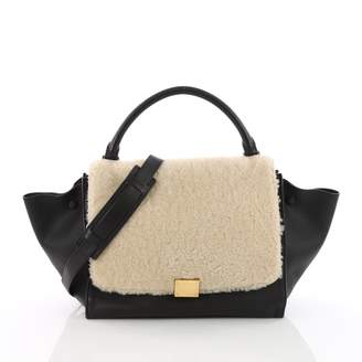 Celine Trapèze leather crossbody bag