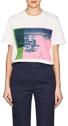 "Calvin Klein Women's ""Electric Chair"" Cotton Jersey T-Shirt"