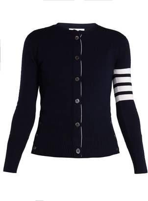 Thom Browne Round-neck cashmere cardigan