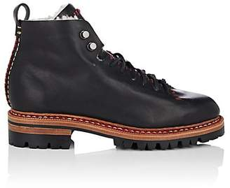 Feit Women's Shearling-Lined Leather Lace-Up Boots