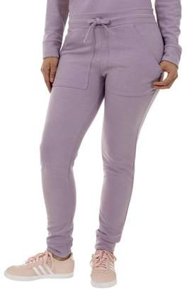 Danskin Women's Athleisure Jogger Pant with Front Pockets