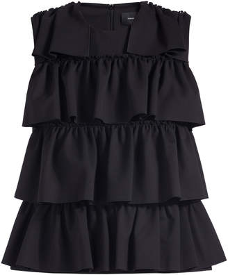 Simone Rocha Four Frilled Sleeveless Top
