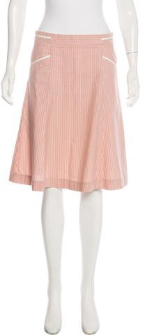 Marc by Marc Jacobs A-Line Knee-Length Skirt