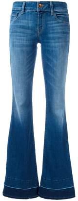 J Brand slit sides flared jeans
