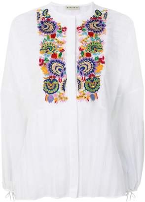 Etro peasant printed blouse