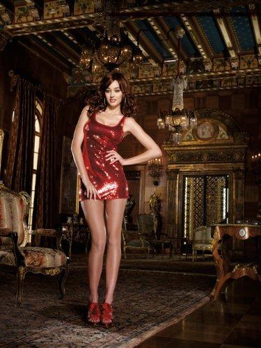 Dreamgirl Women's Sequin Doll Tank Dress