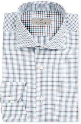 Men's 2-Ply Cotton Check Dress Shirt