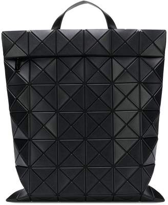 Bao Bao Issey Miyake geometric structure backpack