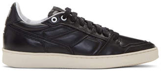 Ami Alexandre Mattiussi Black Leather Sneakers