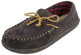 5606a24b1b022 Dockers Olsen Rugged Casual Moccasin Taslon Lace Slipper