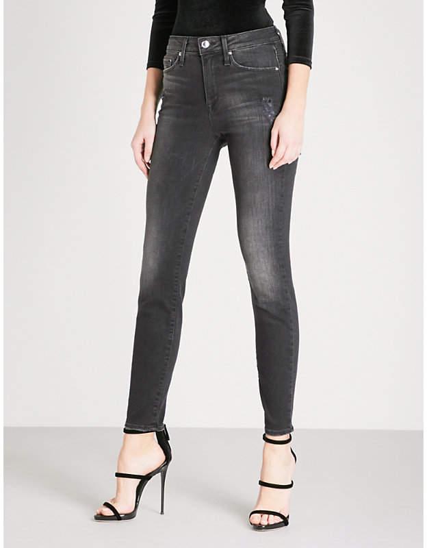 Good Legs skinny high-rise jeans