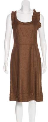 Oscar de la Renta Cashmere-Blend Dress Cashmere-Blend Dress