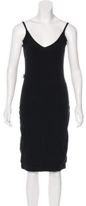 Gianfranco Ferre Sleeveless Knee-Length Dress