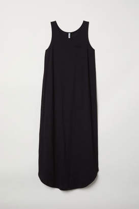H&M Jersey Maxi Dress - Black