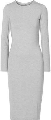 Ninety Percent - Stretch-tencel Dress - Light gray