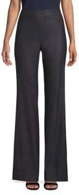 St. John Stretch Birdseye Suit Pants