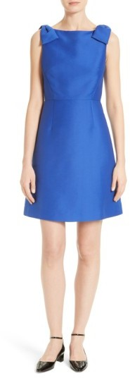 Kate Spade Women's Kate Spade New York Double Bow A-Line Dress