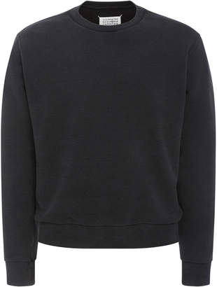 Maison Margiela Open End Elbow Patch Sweater