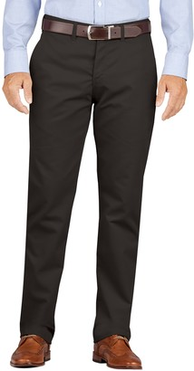 Dickies Men's Slim-Fit Wrinkle-Resistant Khaki Dress Pants