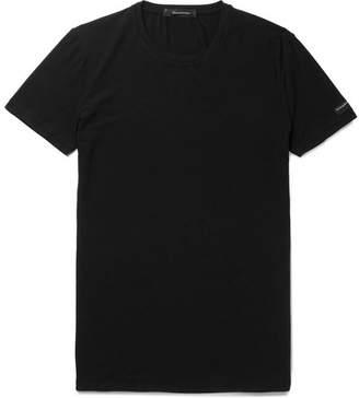 Ermenegildo Zegna Stretch-Modal T-Shirt - Men - Black
