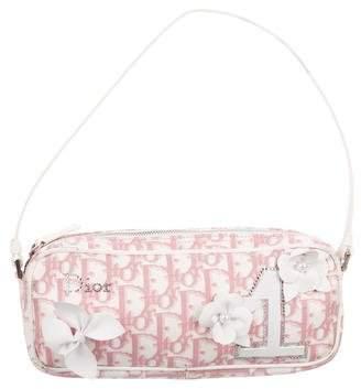 Christian Dior Embellished Diorissimo Girly Shoulder Bag