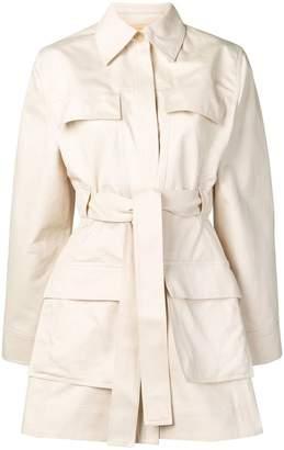 Acne Studios belted safari jacket