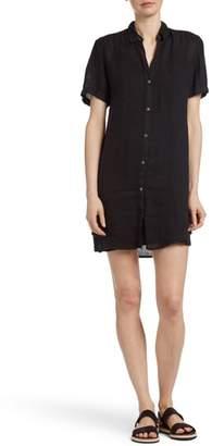 James Perse Short Sleeve Shirtdress