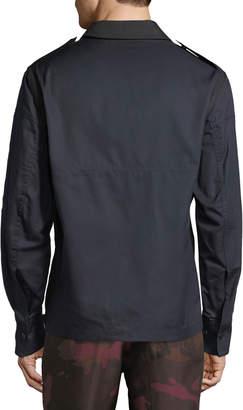 Valentino Men's Pullover Utility Jacket