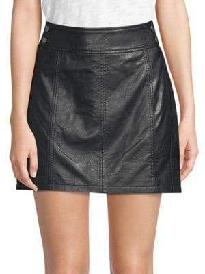 Free People Retro Mini Skirt