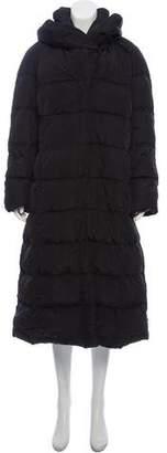 Moncler Long Down Coat