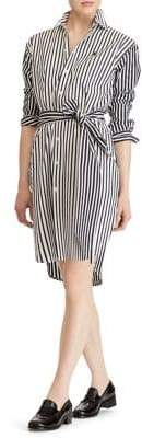 Polo Ralph Lauren Striped Long Sleeve Shirt Dress