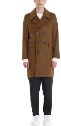 MACKINTOSH Camel Wool Double Breasted Coat