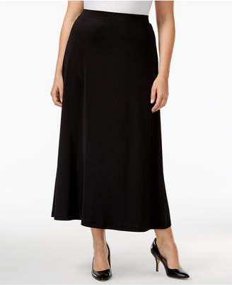 Kasper Plus Size Maxi Skirt