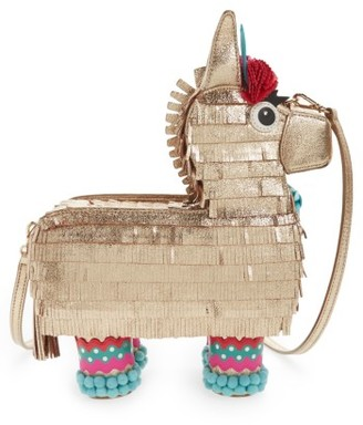 Kate Spade New York Haute Stuff Penny The Pinata Leather Shoulder Bag - Metallic $498 thestylecure.com